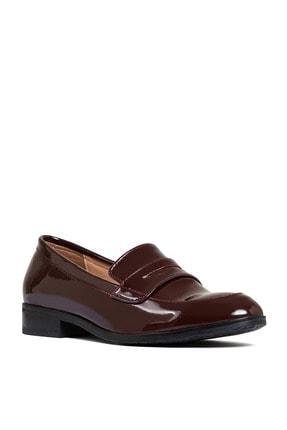 Sole Sisters Kadın Kırmızı Düz Loafer Ayakkabı 1