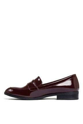 Sole Sisters Kadın Kırmızı Düz Loafer Ayakkabı 2
