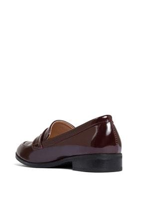 Sole Sisters Kadın Kırmızı Düz Loafer Ayakkabı 3