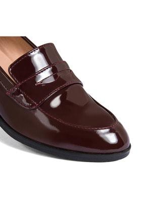 Sole Sisters Kadın Kırmızı Düz Loafer Ayakkabı 4