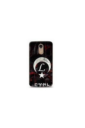 Kılıf Madeni Lg Stylus 3 L Harfli Bayrak Tasarımlı Telefon Kılıf 0