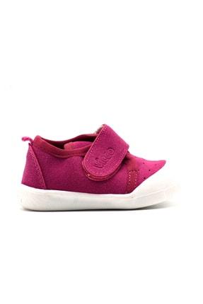Vicco Unisex Bebek Gri Cırtlı Ayakkabı 2