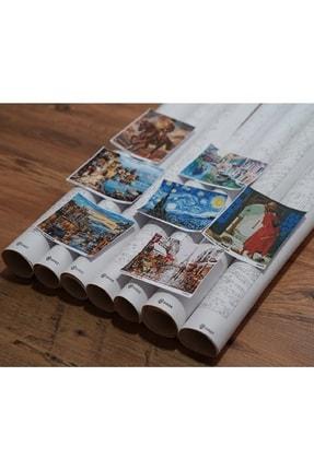 3D Art Sayılarla Boyama Tablo Seti Kanvas Fırça Boya Dahil 40x50 CM - Karnaval 3