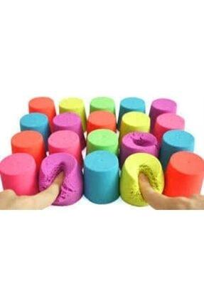 webcenter Kinetik Kum, Oyun Kumu, 4 Renk 2 Kg, Oyun Kalıpları Hediye 1