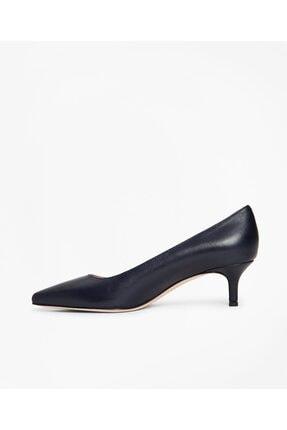 BROOKS BROTHERS Kadın Siyah Kısa Sivri Topuklu Ayakkabı 2