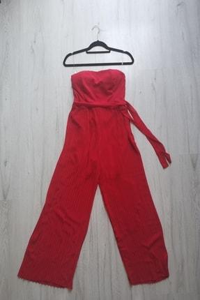 Sako & İlly Kadın Kırmızı Tulum 0