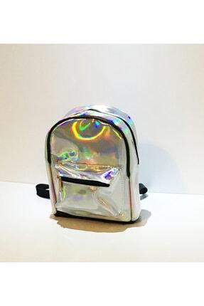 Mix&Box Kadın Hologram Parlak Küçük Sırt Çantası 0