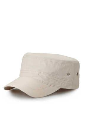 CapTown Unisex Bej Castro Şapka 0