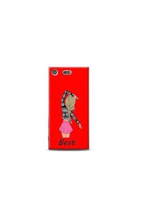 Kılıf Madeni Sony Xperia Xz Premium Best Tasarımlı Kırmızı Telefon Kılıfı Y-krmklf077 0