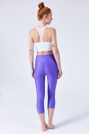 VAYU Beyaz Hera Halter Yaka Tül Detaylı Yoga & Pilates Sporcu Sütyeni 4