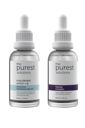 The Purest Solutions Yoğun Nemlendirme Ve Kırışıklık Karşıtı Onarıcı Bakım Seti 1