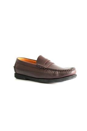 Beta Shoes Erkek Bordo Deri Ayakkabı 0