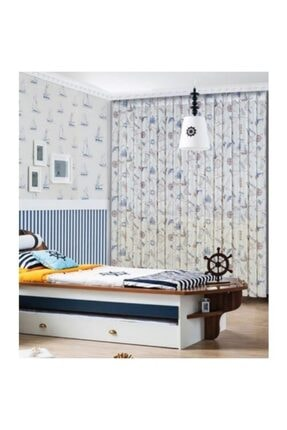 Brillant Dikey Perde Çocuk Odası Mavi Dtl0012 0