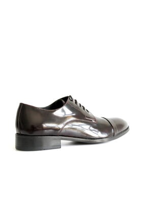 Beta Shoes Erkek Bordo League Deri Ayakkabı 2