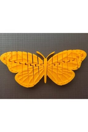 AldımGeldi Hareket Edebilir Monarch Kelebek Dekoratif Süs Eşyası Hediyelik 1