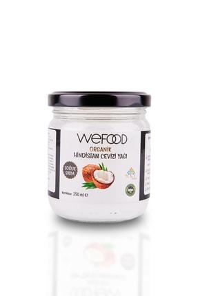Wefood Organik Hindistan Cevizi Yağı 150 ml (Soğuk Sıkım) 0