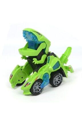 Can Ali Toys Dinozor Makineler Dönüşebilen Işıklı Sesli Robot Oyuncak 1