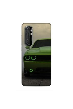 Pickcase Xiaomi Mi Note 10 Lite Kılıf Desenli Arka Kapak Green Cars 0