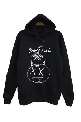 fame-stoned Siyah Xxxtentacıon Sweatshirt 0