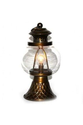 Moda Küresi Antik Ledli Lamba Büyük 22cm Hediyelik Dekoratif 0