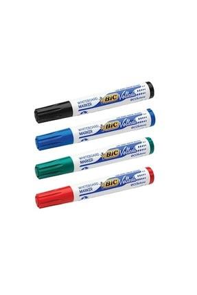 Bic Bıc Velleda 1701 Eco Yuvarlak Uç Tahta Kalemi - 4 Renk Set 0