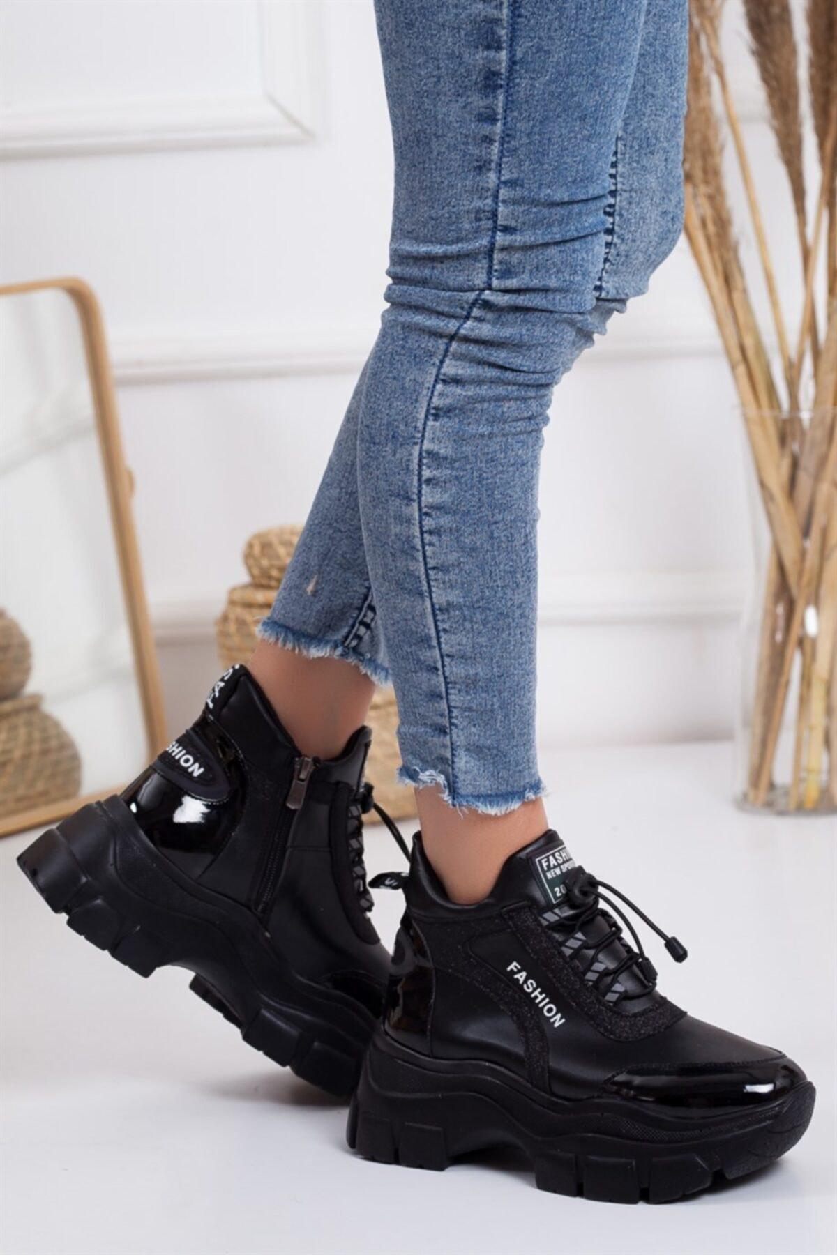 Lovita Shoes KadınBeyaz Spor Bot Beyaz