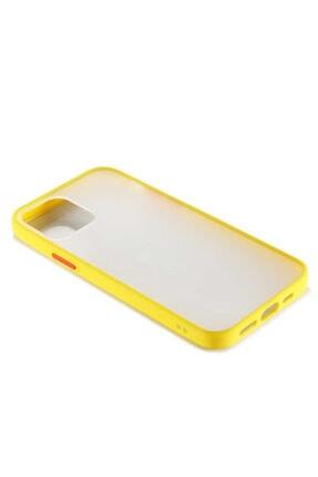 MOBAX Apple Iphone 12 Pro Kılıf Arka Buzlu Mat Kapak Koyu Yeşil 2