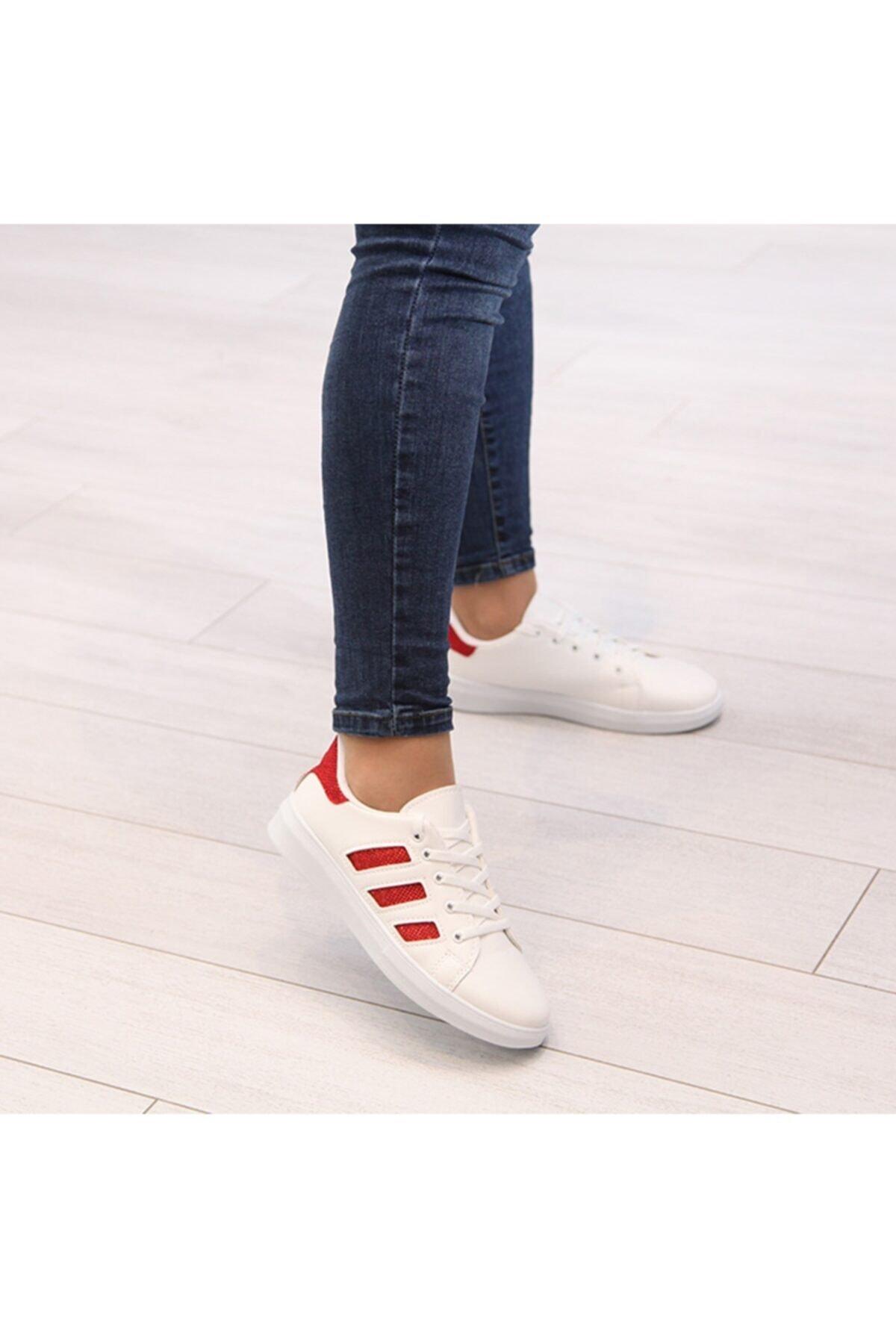 Matilla Kadın Beyaz Spor Ayakkabı