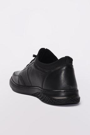 Yaya by Hotiç Hakiki Deri Siyah Erkek Sneaker 02AYY189610A100 1