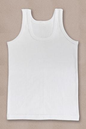 PRENS Erkek Çocuk Beyaz 3lü Paket Atlet Külot Takım 1250p3 1