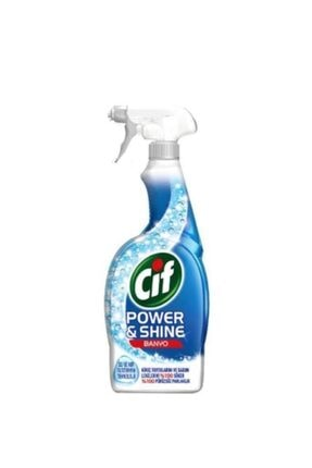 Cif Power Shine Banyo Yüzey Temizleyici Sprey 750 ml 0