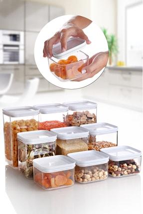 Queen's Kitchen 9 Parça Akrilik Saklama Seti 0