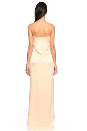 Lanvin Kadın Pudra Straplez Gece Elbisesi 2