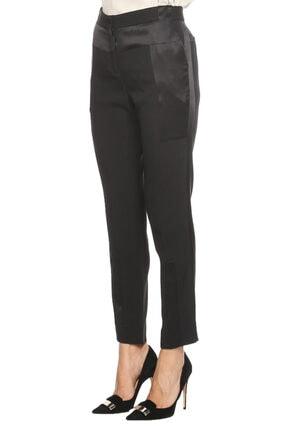 Prabal Gurung Kadın Siyah Klasik Pantolon 3