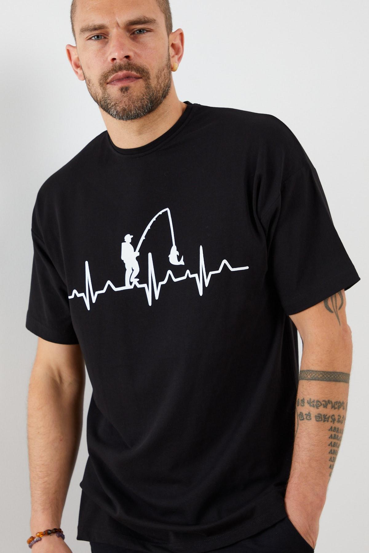 Resim Detaylı Kısa Kollu T-shirt