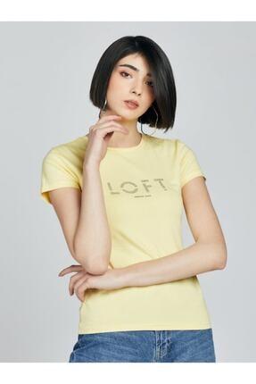 Loft 2027058 Kadın T-shırt Short Sleeve 0