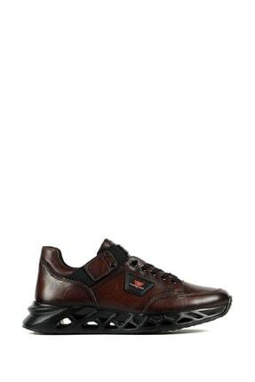 تصویر از Erkek Kahve Hakiki Deri Ayakkabı