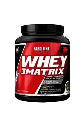 Hardline Whey 3 Matrix Çikolata Aromalı Protein Tozu 0