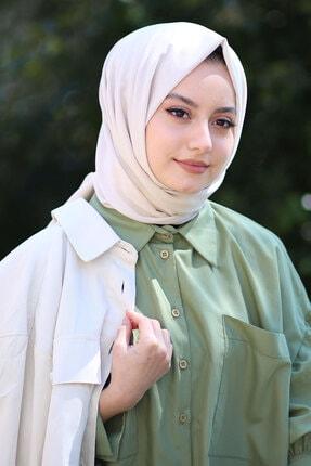 AFVENTE Kadın Bej Cotton Pamuk Şal Ck01 1