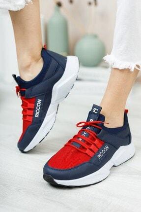 Riccon Unisex Lacivert Bağçıklı Sneaker 0012072 3