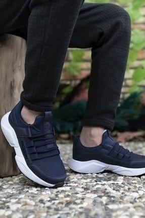 Riccon Unisex Lacivert Beyaz Sneaker 2