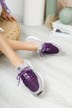 Riccon Kadın Buz Mor Sneaker 0012072 2