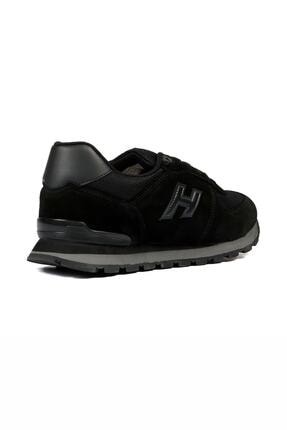 Hammer Jack Unısex Siyah Bağcıklı Hakiki Deri Spor Ayakkabı 07 19250_1 1