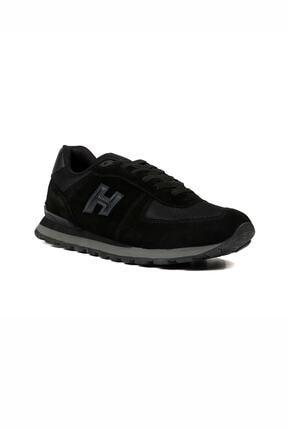 Hammer Jack Unısex Siyah Bağcıklı Hakiki Deri Spor Ayakkabı 07 19250_1 3