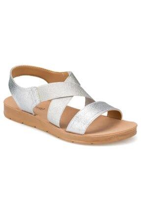 Polaris 91.150787PZ Gümüş Kadın Sandalet 100374740 1
