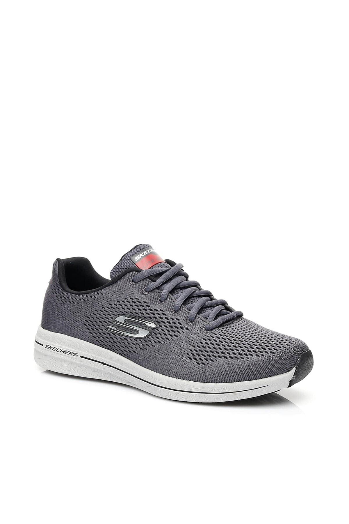 Skechers BURST 2.0- OUT OF RANGE Erkek Gri Spor Ayakkabı