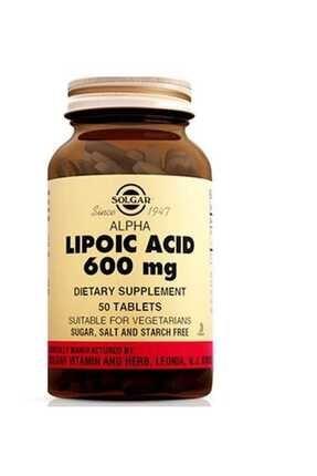 Solgar Sol-gar Alpha Lipoic Acid 600 Mg 50 Tablet 0