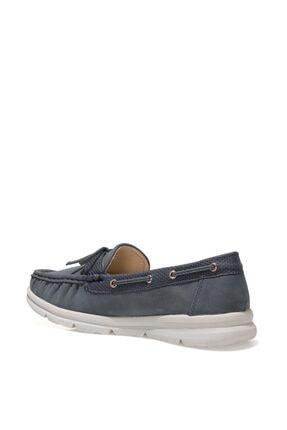 Nine West MARIO 1FX Lacivert Kadın Loafer Ayakkabı 101008454 2