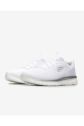 Skechers GRACEFUL-GET CONNECTED Beyaz Kadın Yürüyüş Ayakkabısı 100353423 2