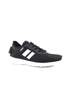 Jump - 24853 - Günlük Rahat Fileli Kullanışlı Ortapedik Spor Ayakkabı - Siyah - 39 1